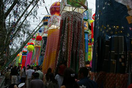 平塚の七夕飾り0705ts