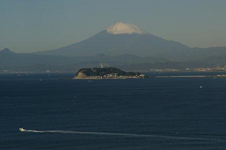 今朝の富士山1122b