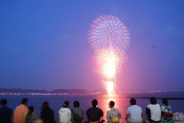 写真: 鎌倉花火大会2014