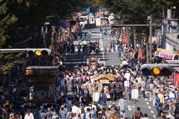 写真: 横須賀神輿パレード2014!
