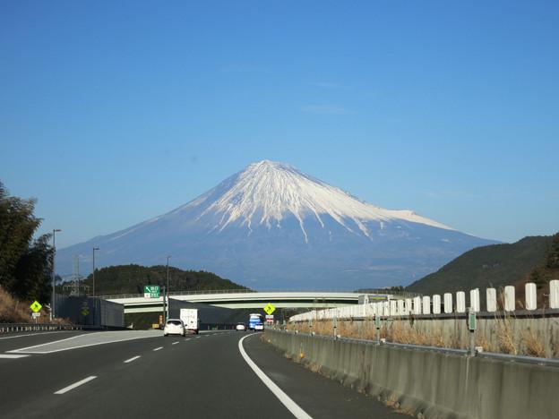 新清水からの富士山
