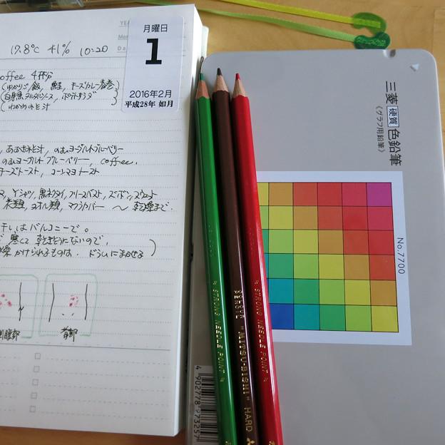 硬質 色鉛筆
