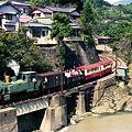 昭和52年本線運転を行う前の大井川鉄道。