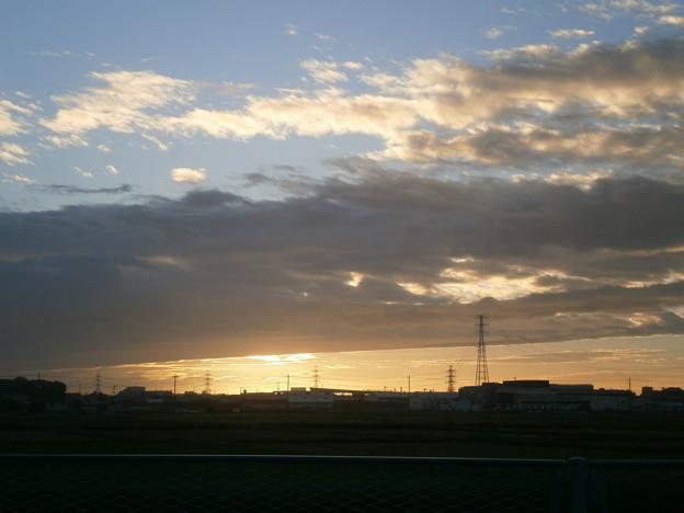 台風が過ぎた朝