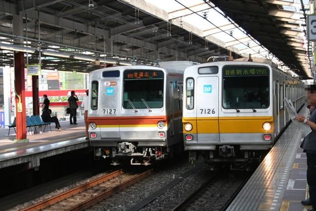 写真: 副都心線7000系&有楽町線7000系