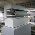 写真: 副都心線渋谷駅・地宙船の模型