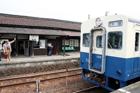 騰波ノ江駅とキハ102