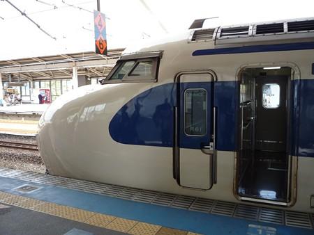 0系新幹線のサイドビュー