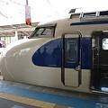写真: 0系新幹線のサイドビュー
