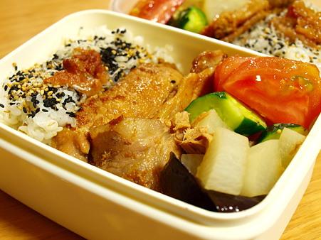 シャキっとしようぜ生姜祭り、の豚生姜焼き弁当