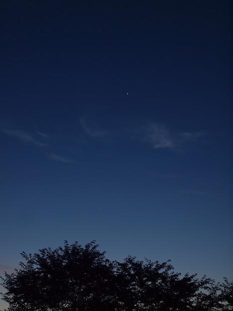 夜明けの木星