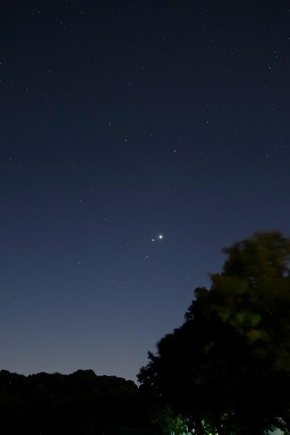 木星と金星の接近