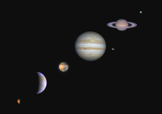 惑星たち・・
