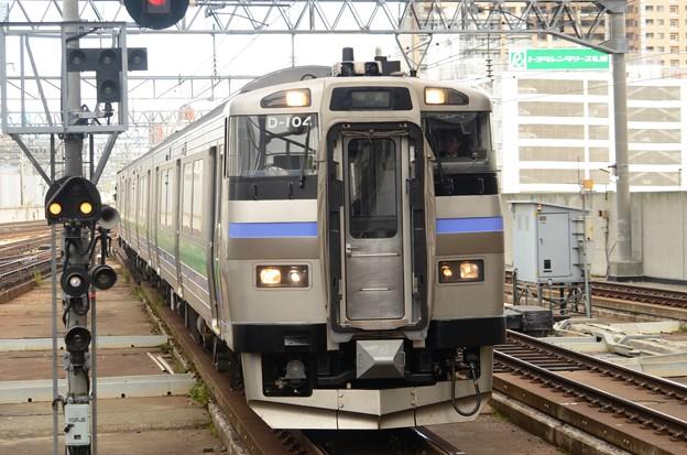キハ201系いしかりライナー3192D札幌3番入線!