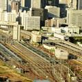 東京総合車両センター田町センター俯瞰