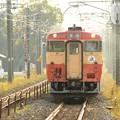 国鉄一般型標準色キハ40 1007黒磯行き335D