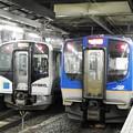 SAT721系とHB-E210系仙台1・2番並び