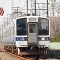 写真: 415系1500番台K540編成水戸線交直切替デッドセクション進入