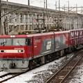 Photos: 宇都宮貨物(タ)に入線するEH500-62 牽引高速貨物94レ