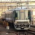 阪和線快速終点天王寺入線