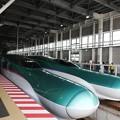 新函館北斗E5系&H5系の並び