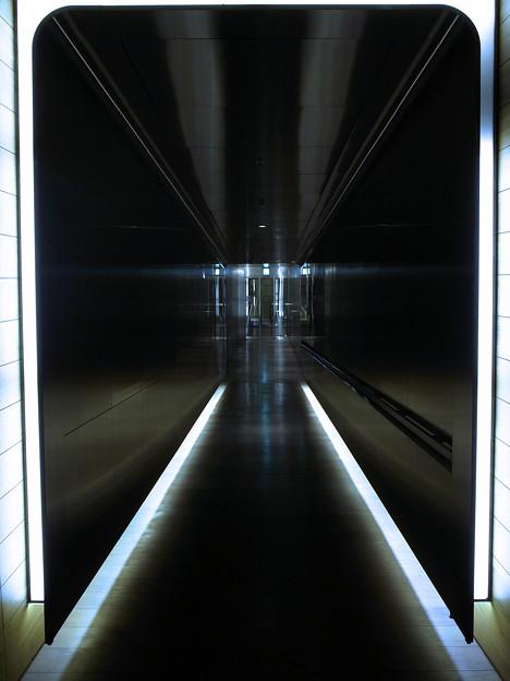 The time traveler entrance.
