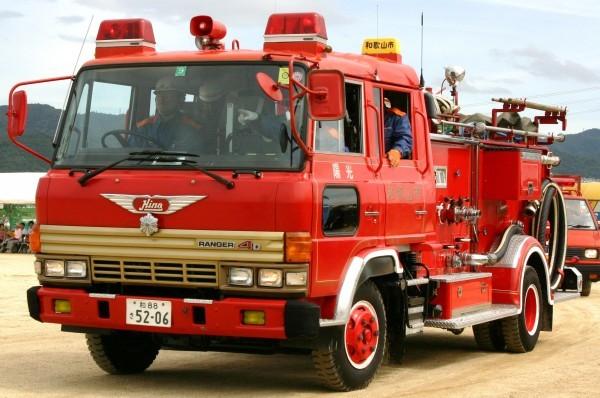 和歌山市消防局 化学車「陽光」