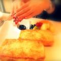 ホテルオークラで朝食を