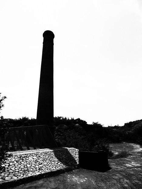煙突と美術館