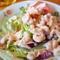 写真: 小海老のサラダ