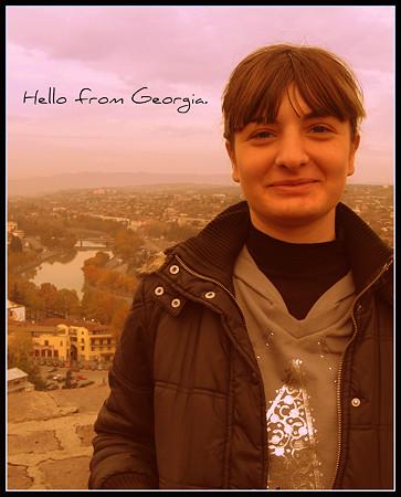 Hello from Georgia