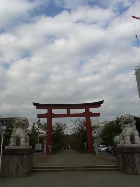 【鎌倉】二の鳥居 若宮大路[2014]