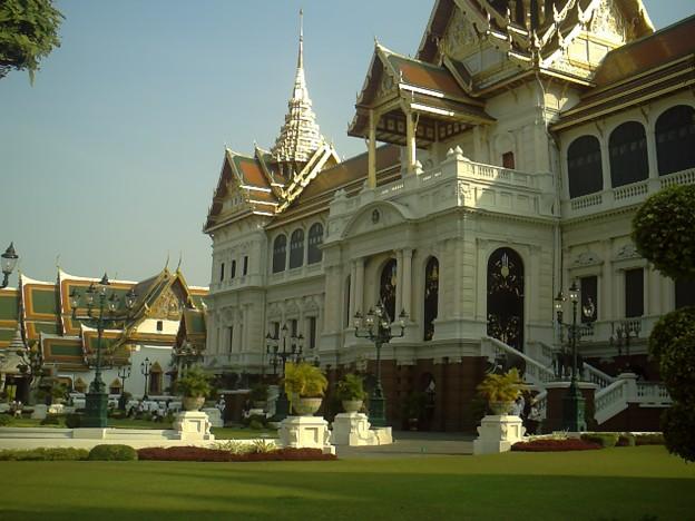 バンコク|王宮 チャクリー・マハ・プラサート宮殿