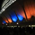 Photos: ライトアップのスタジアム