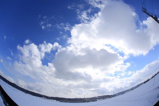 写真: 北陸新幹線アクセス特急しらゆき FishEye