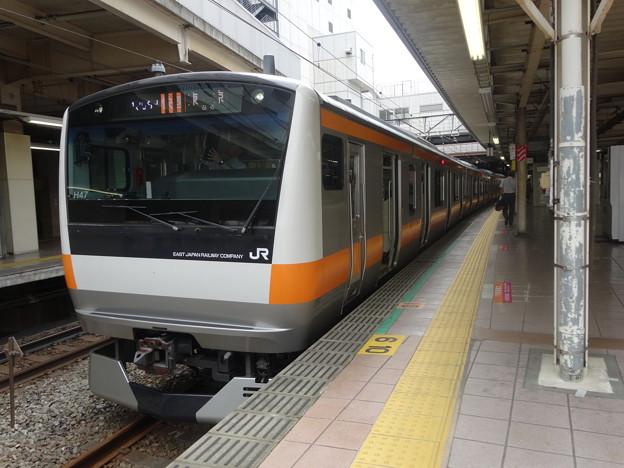 E233系0番台 立川駅にて