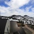 140512-182東北ツーリング・八甲田山・ロープウエー山頂駅付近からの景色