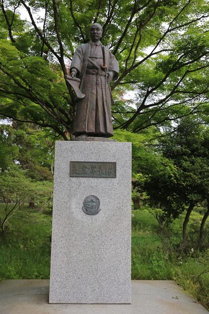 140515-147東北ツーリング・仙台城跡・支倉常長像