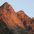 151014-2焼岳登山と上高地・明神館からの明神岳
