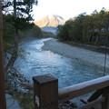 151014-9焼岳登山と上高地・河童橋からの焼岳