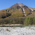 151016-149焼岳登山と上高地・梓川と焼岳