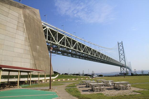 Photos: 110514-17四国中国地方ロングツーリング・道の駅あわじからの明石海峡大橋