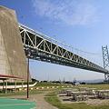 110514-17四国中国地方ロングツーリング・道の駅あわじからの明石海峡大橋