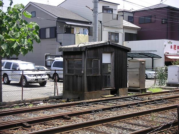 東湊・渡り線(亘り線)ポイント転換所