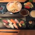 写真: お正月のランチはホテルで和食。