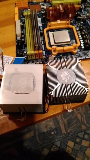 AMD CPUクーラー ヒートシンク
