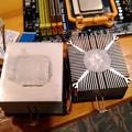 写真: AMD CPUクーラー ヒートシンク