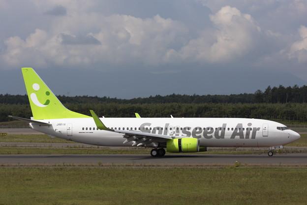 B737-800 JA811X Salaseed Air RJCC