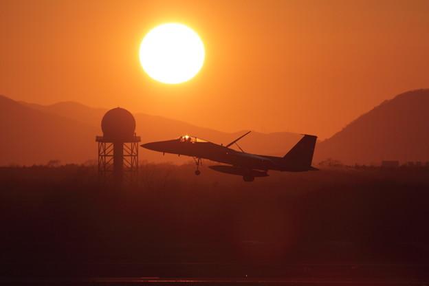 Photos: F-15 夕陽