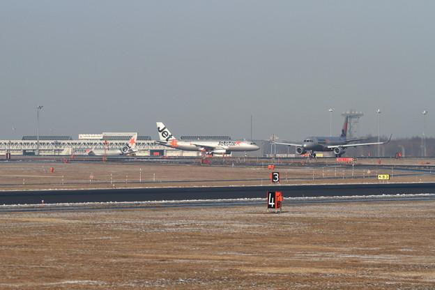 A320 JetStarが3機